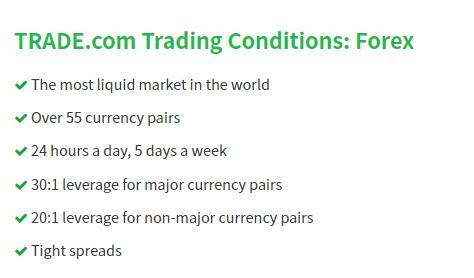 TRADE.com FX CFD trading